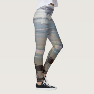 Multicolored Striped Leggings