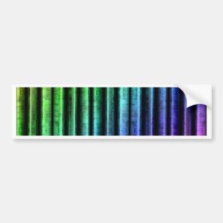 multicolored Stripes no. 1 created by Tutti Bumper Sticker