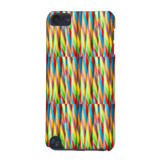Multicolored Stripes Pattern iPod Touch (5th Generation) Cover