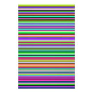 Multicolored Stripes Photograph