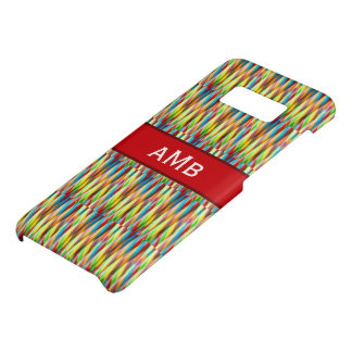 Multicolored Stripes Rainbow Colors Pattern Case-Mate Samsung Galaxy S8 Case