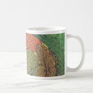 Multicolored Swirl Elegant Design Coffee Mugs