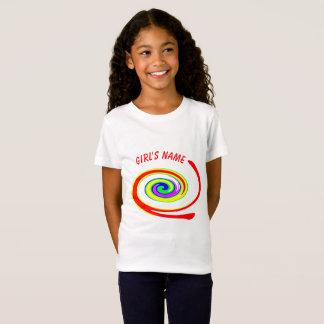 Multicolored swirl T-Shirt