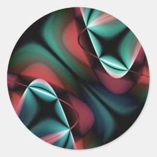 multicolored symmetry designed by Tutti Sticker