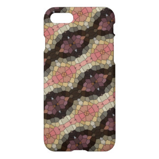 multicolored tiles abstract pattern iPhone 8/7 case