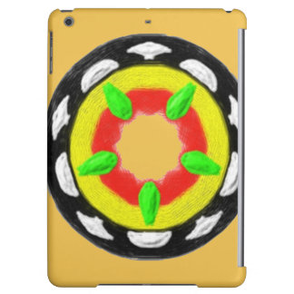 Multicolored trendy abstract pattern cover for iPad air
