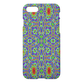 Multicolored trendy abstract pattern iPhone 8/7 case