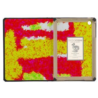 Multicolored trendy pattern iPad mini cover