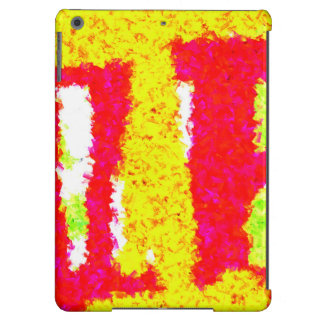 Multicolored trendy pattern case for iPad air