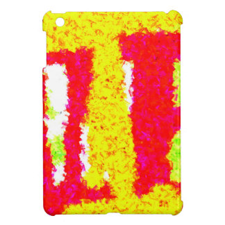 Multicolored trendy pattern iPad mini covers