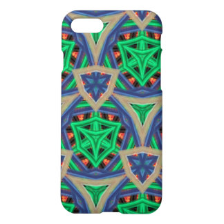 multicolored trendy pattern iPhone 8/7 case
