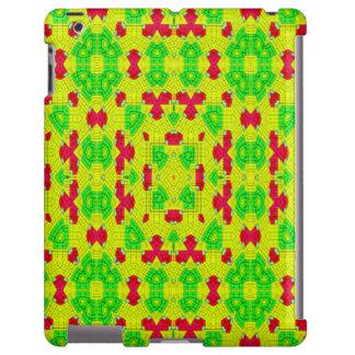 Multicolored trendy stylish pattern iPad case