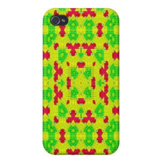Multicolored trendy stylish pattern cover for iPhone 4