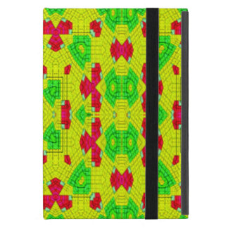 Multicolored trendy stylish pattern cover for iPad mini