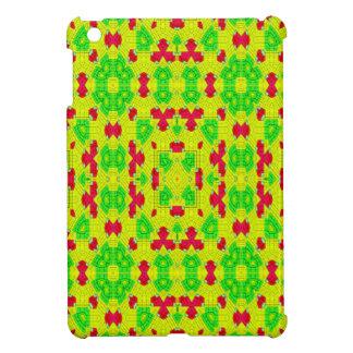 Multicolored trendy stylish pattern iPad mini cover