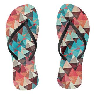 Multicolored Triangles Flip Flops