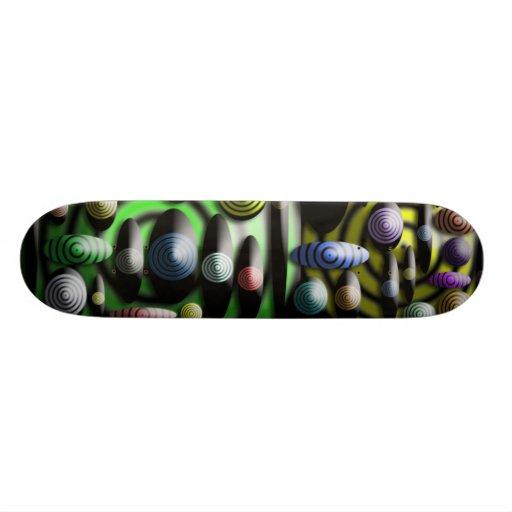 Multicolored Unique Skateboard
