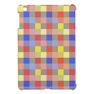 Multicolored Vintage Square. Geometric Pattern Case For The iPad Mini