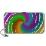 Multicolored wave haut-parleur iPod