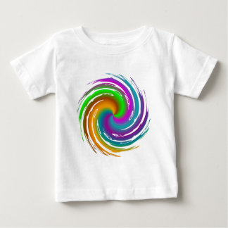 Multicolored wave shirt