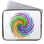 Multicolored wave trousse pour ordinateur portable