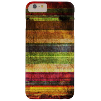 Multicolored Wood Pattern Barely There iPhone 6 Plus Case
