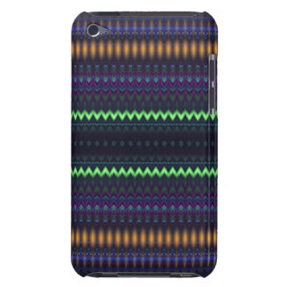 Multicolored Zigzag and Striped Barely There iPod Covers