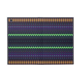 Multicolored Zigzag and Striped Cover For iPad Mini