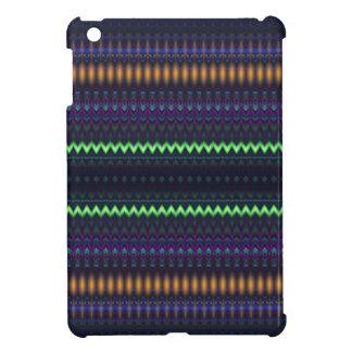 Multicolored Zigzag and Striped iPad Mini Cases