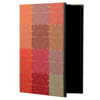 MultiColors Retro Vintage Square Colorful Firework iPad Air Covers