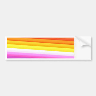 Multicolour Fabric Folds Abstract Bumper Stickers