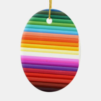 Multicolour Fabric Folds Abstract Christmas Ornaments