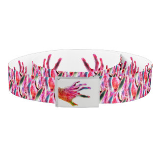 Multicolour Hand Art Belt