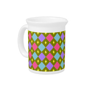Multicolour Honeycomb You Create Pitcher