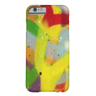 Multicolour spray paint barely there iPhone 6 case