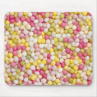 Multicolour sugar sprinkles mousemat