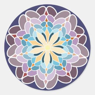 Multicoloured dahlia