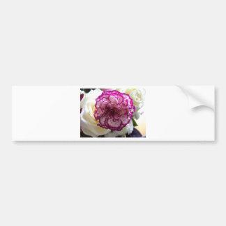 Multicoloured Flower Design Bumper Stickers