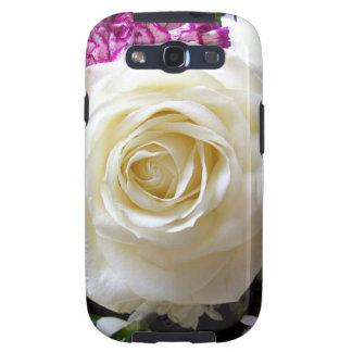 Multicoloured Flower Design Samsung Galaxy SIII Cover