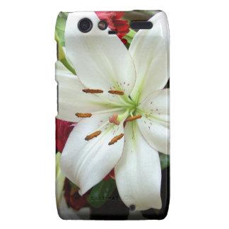 Multicoloured Flower Design Motorola Droid RAZR Covers