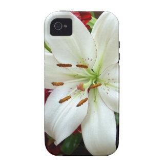 Multicoloured Flower Design Vibe iPhone 4 Cases