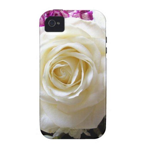 Multicoloured Flower Design Case-Mate iPhone 4 Case