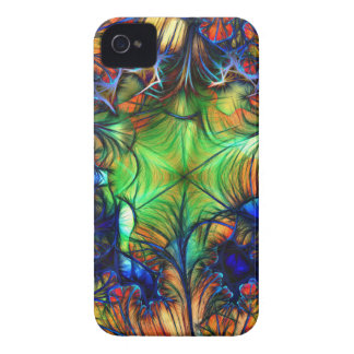 Multicoloured Fractal Case-Mate iPhone 4 Case