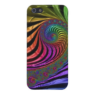 Multicoloured fractal iPhone case Case For The iPhone 5