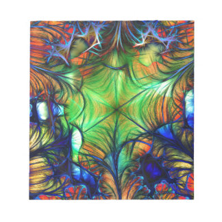 Multicoloured Fractal Notepad