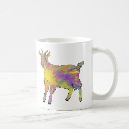 Multicoloured Funny Artsy Goat Animal Art Design Coffee