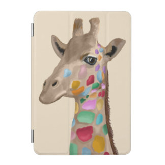 MultiColoured Giraffe iPad Mini Cover