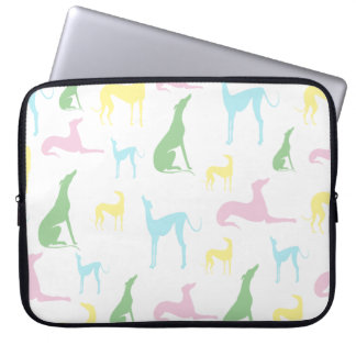 Multicoloured Greyhound 15 inch Laptop Case