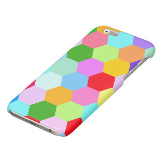 Multicoloured Hexagon Pattern iPhone 6 Plus Case