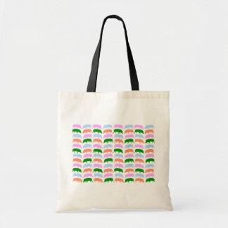Multicoloured Hogs Budget Tote Bag